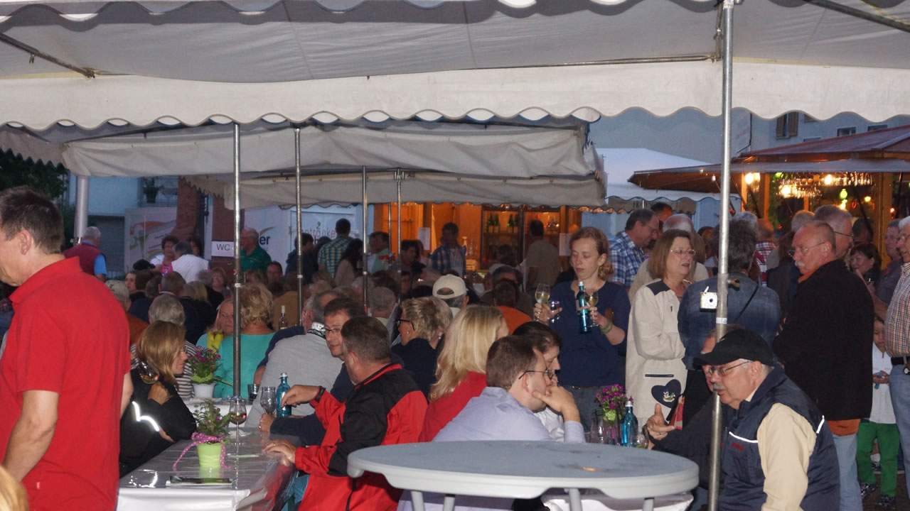 Weinfest in Frauenstein